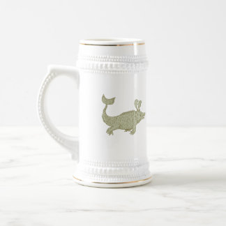 Ancient Sea Monster Drawing Beer Stein