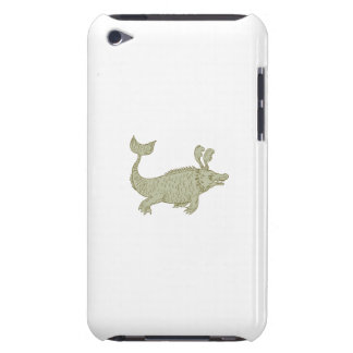 Ancient Sea Monster Drawing Case-Mate iPod Touch Case