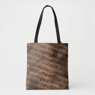 Ancient Sheet Music 2 Tote Bag