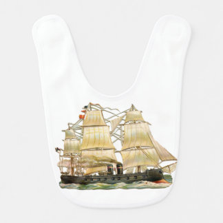 Ancient Ship Bib