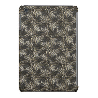 Ancient Silver Celtic Spiral Knots Pattern iPad Mini Cover