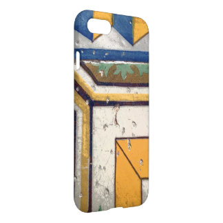 Ancient Spanish tiles iPhone case