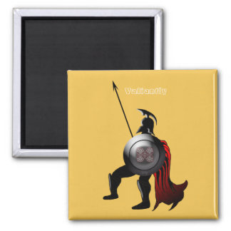 Ancient Spartan Warrior Magnet
