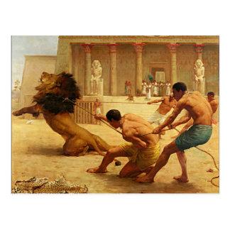 Ancient Sport by Kilburne Postcard