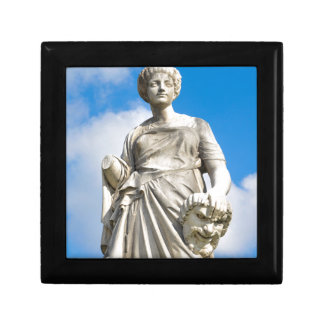 Ancient statue small square gift box