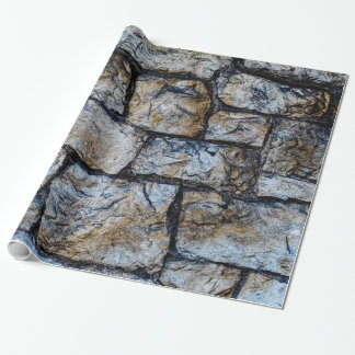 Ancient Stone Wall Wrapping Paper