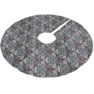 Ancient Triad Brushed Polyester Tree Skirt