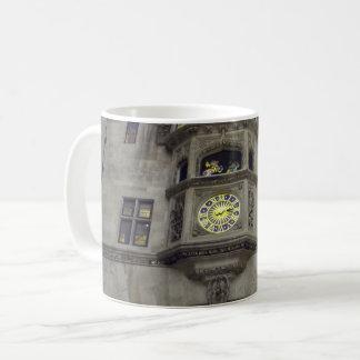 Ancient Wall Clock White Coffee Mug