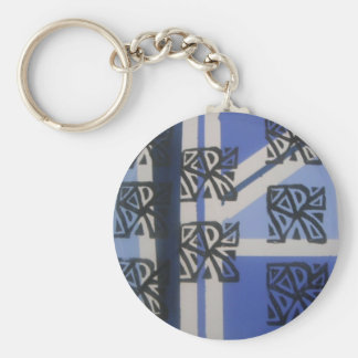 Ancient Ways Basic Round Button Key Ring