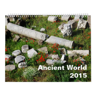 Ancient world 2015 calendar