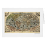 Ancient World Forlani Map By Paolo Forlani 1565 Card