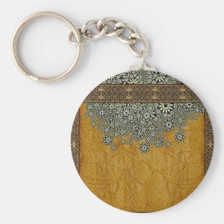 Ancient Worlds Decorative Graphic Keychain