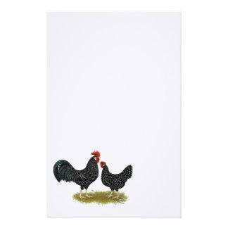 Ancona Chickens Stationery