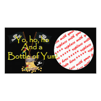 And a bottle of YUM! Personalized Photo Card