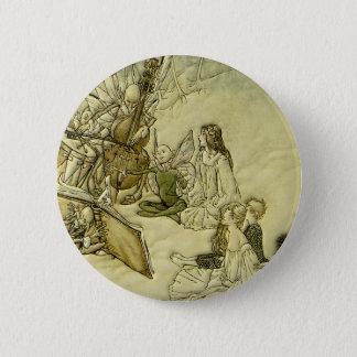 And a Fairy Song - Arthur Rackham 6 Cm Round Badge