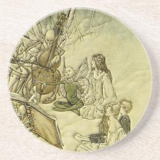And a Fairy Song - Arthur Rackham Coasters