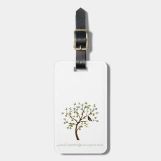 And a partridge in a pear tree bag tag