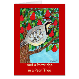 And A Partridge in a Pear Tree Cards