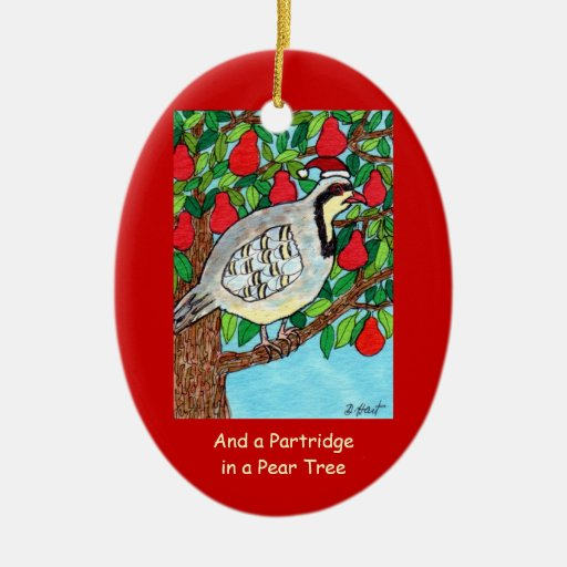 And a Partridge in a Pear Tree Christmas Tree Ornament