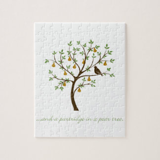 And a partridge in a pear tree jigsaw puzzle