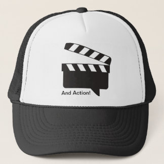 And Action trucker hat