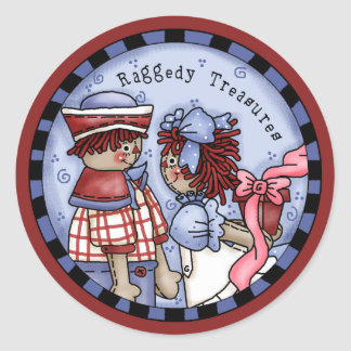 and Andy Treasures Classic Round Sticker