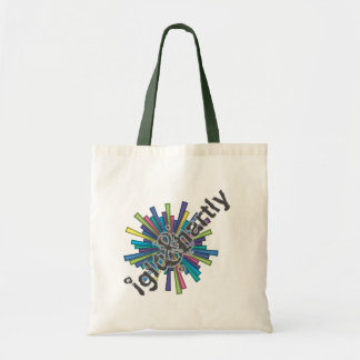 """AND explode"" by Nick winner 07.06.09 Budget Tote Bag"