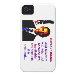 And Freedom Will Win - Barack Obama iPhone 4 Covers