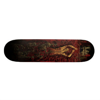 AND HELL FOLLOWED WITH- Proprioception deck 20 Cm Skateboard Deck