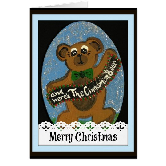 And Here's The Cinnamon Bear Card