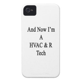 And Now I'm A HVAC R Tech iPhone 4 Case-Mate Case
