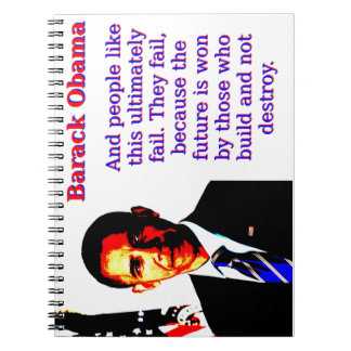And People Like This - Barack Obama Note Book