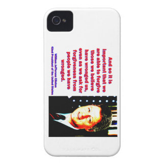 And So It Is Important - Bill Clinton iPhone 4 Case