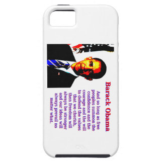 And So Long As Free Peoples - Barack Obama iPhone 5 Case