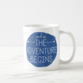 And So The Adventure Begins Coffee Mug