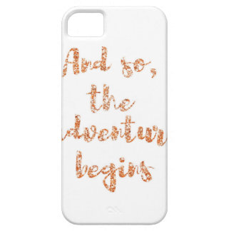 And so, the adventure begins - Travel inspiration iPhone 5 Case