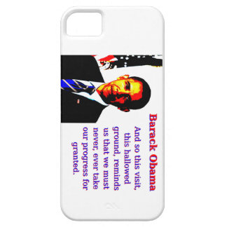 And So This Visit - Barack Obama Barely There iPhone 5 Case