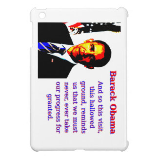 And So This Visit - Barack Obama iPad Mini Covers