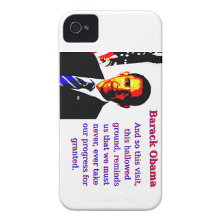 And So This Visit - Barack Obama iPhone 4 Cases