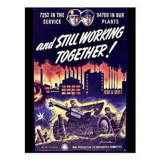 And Still Working Together Postcards