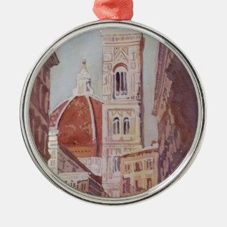 And Suddenly, The Duomo Metal Ornament