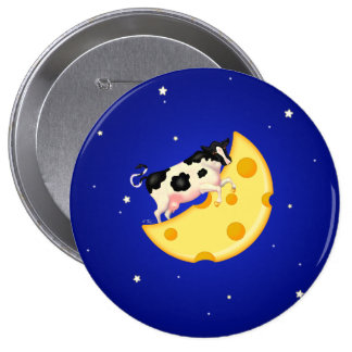 And the Cow Jumped Over the Cheese Moon Button