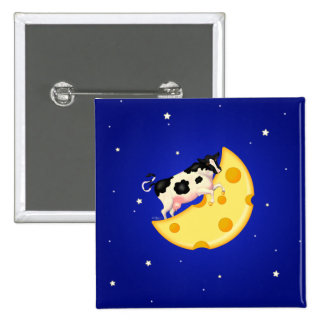 And the Cow Jumped Over the Cheese Moon Pins