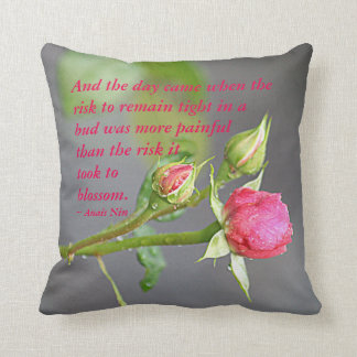 And the day came.... cushion