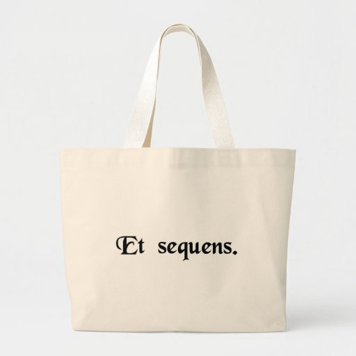 And the following. bags