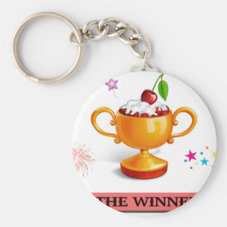 And the winner is dessert cup keychain