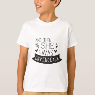and then she was invincible T-Shirt