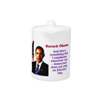 And This Is Something That I Emphasize - Barack Ob