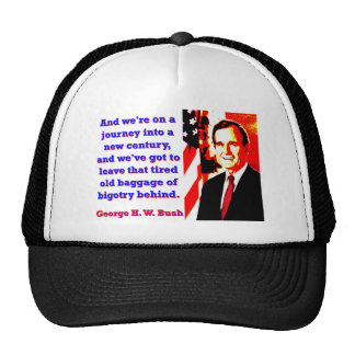 And We're On A Journey - George H W Bush Cap