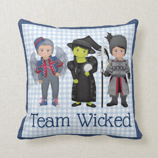 And Your Little Dog ToO!  Team Wicked Team Dorothy Cushion